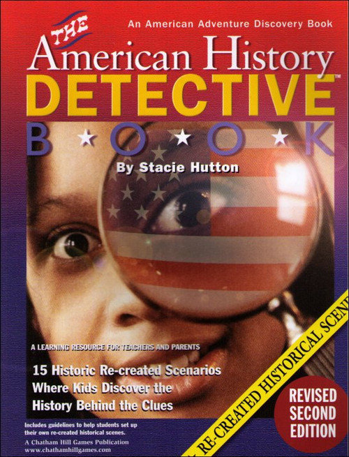 The American History Detective Book Perfect Paperback Book