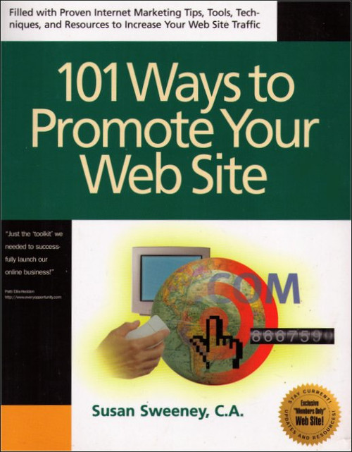 101 Ways to Promote Your Web Site Paperback Book (Susan Sweeney)