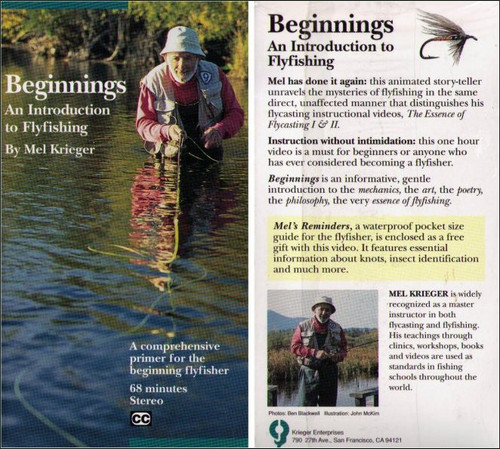 Beginnings An Introduction to Flyfishing Fishing Fish VHS