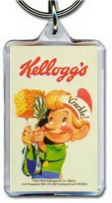 Kellogg's Rice Crispies Crackle Lucite Keychain KK1869