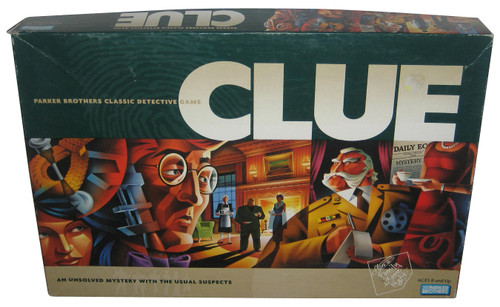 CLUE Detective (2005 Edition) Parker Brothers Hasbro Board Game