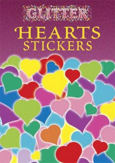 Glitter Hearts Sticker Set - 32 Stickers