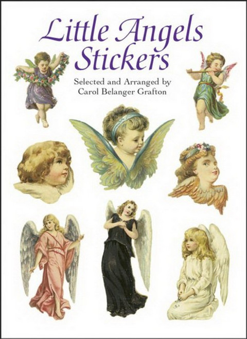 Little Angels Winged Seraphs Sticker Set - 35 Stickers
