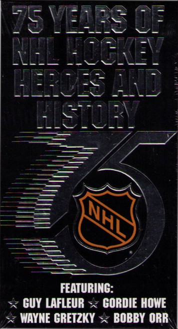 NHL 75 Years of Hockey Heroes & History (1991) Vintage VHS Tape