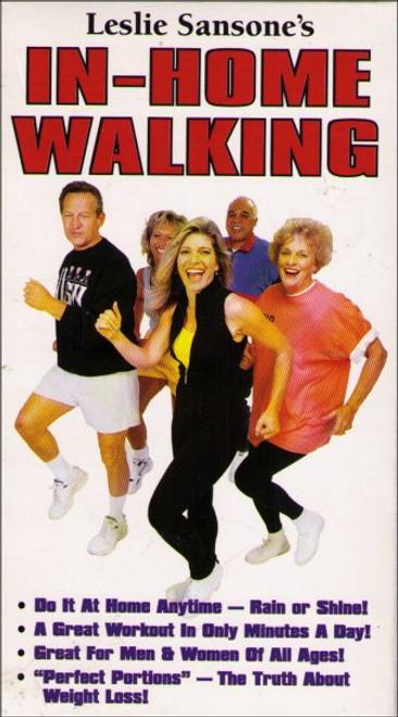 Leslie Sansone's In-Home Walking (2002) Exercise VHS Tape
