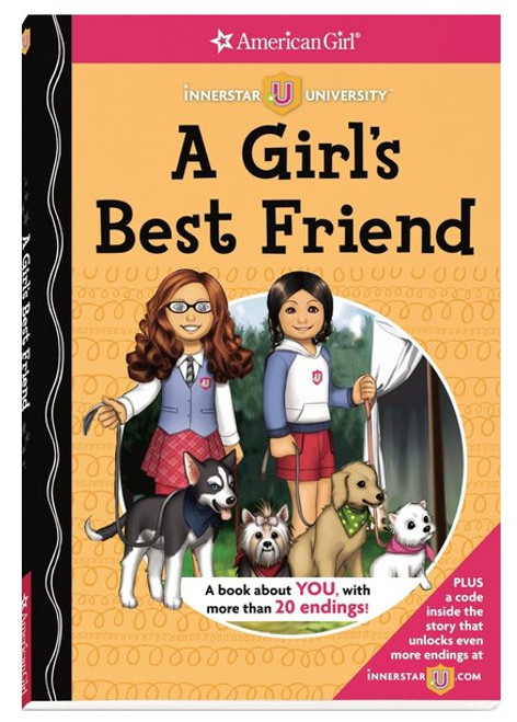 A Girl's Best Friend (Innerstar University) Hardcover Book - (Catherine Stine)