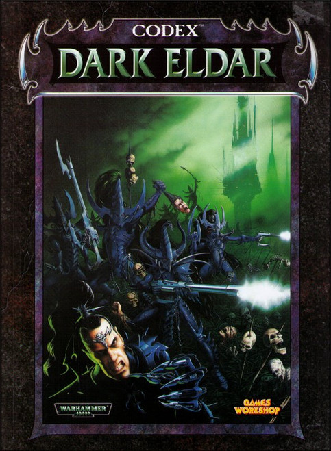 Warhammer 40,000 Games Workshop Dark Eldar Codex Book