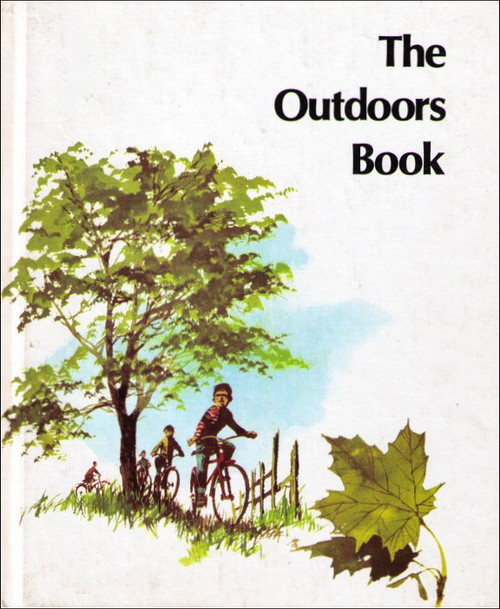 The Outdoors Book Vintage (1979) Hardcover Book - (Britannica Discovery Library)