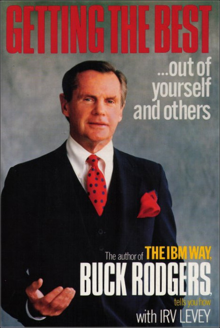 Getting The Best Out of Yourself and Others Hardcover Book - (SIGNED)