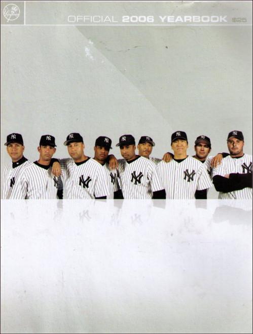 MLB Baseball Official 2006 Yankees Big Year Book - (503 Pages)