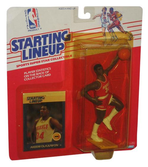 NBA Basketball Starting Lineup Akeem Olajuwon 1988 Vintage Kenner Figure