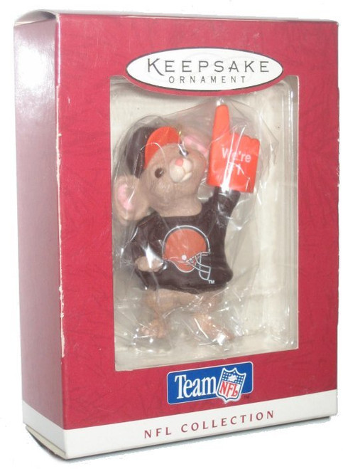 NFL Football Browns Hallmark Keepsake Ornament