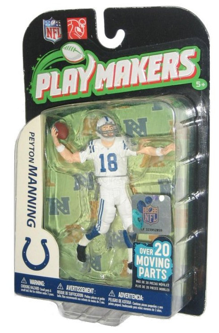 NFL Play Makers McFarlane Toys Peyton Manning Indianapolis Colts Figure