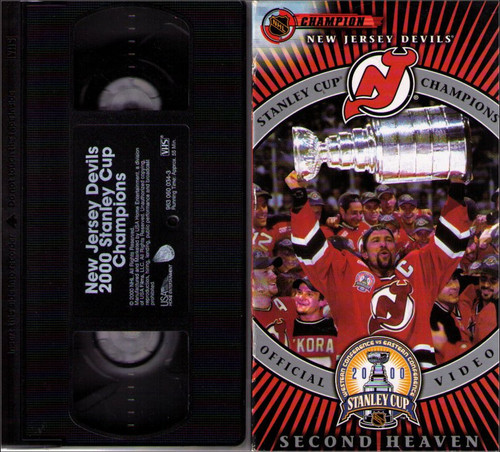 Second Heaven - New Jersey Devils 2000 Stanley Cup Champions NFL Hockey VHS Tape