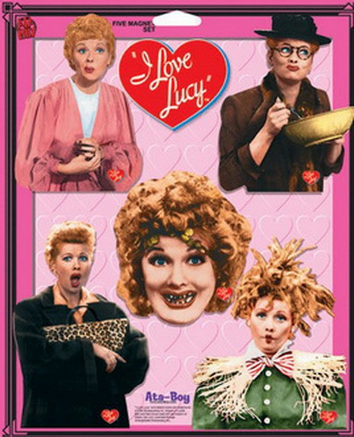 I Love Lucy 5 Piece Magnet Set 18212FP