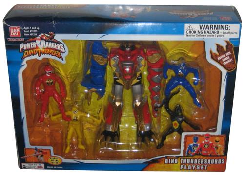 Power Rangers Dino Thunder Thundersaurus Figure Bandai Toy Playset