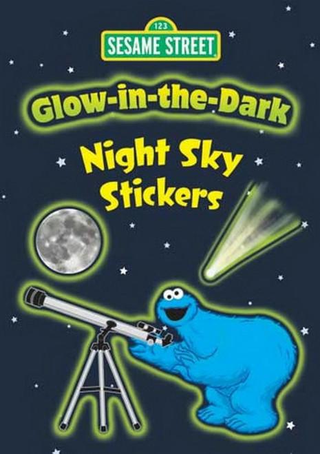 Sesame Street Glow-in-the-Dark Night Sky Sticker Set - 13 Stickers