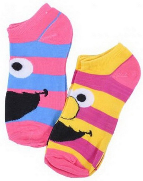 Sesame Street Elmo & Cookie Monster Ankle Socks SES3