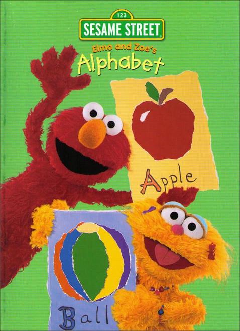 Sesame Street Elmo & Zoe's Alphabet Coloring Activity Book
