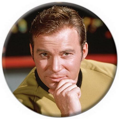 Star Trek Kirk Leaning on Hand Button 81421