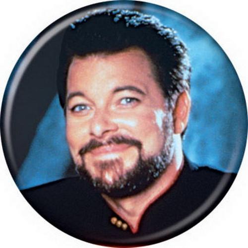 Star Trek William Riker Button 81341