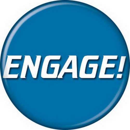 Star Trek Engage! Button 81395