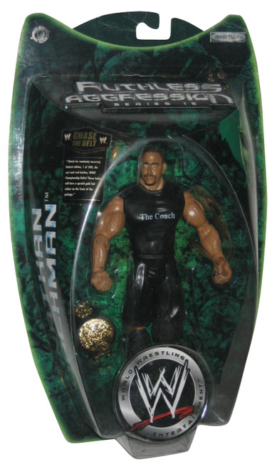 WWE Ruthless Agression Series 15 Jonathan Coachman Action Figure