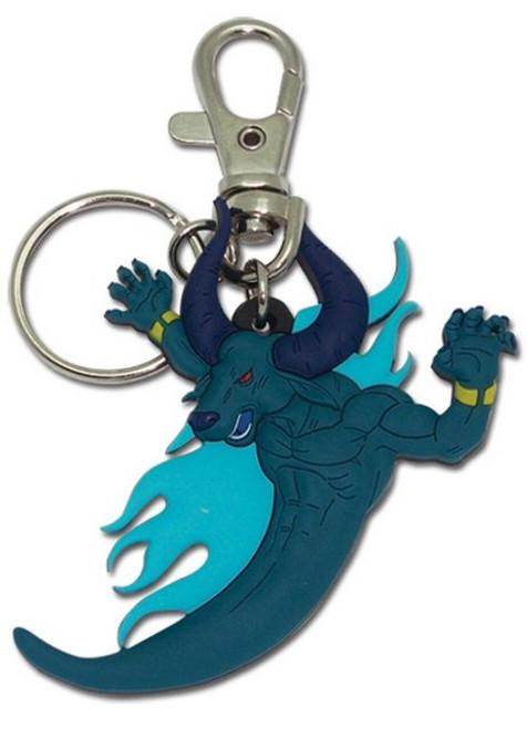 Blue Dragon Minotaur Keychain 4565