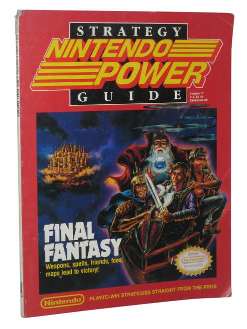 Final Fantasy Nintendo Power NES Vol. 17 Official Strategy Guide Book