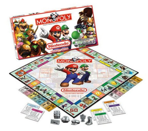Nintendo Monopoly Collector's Edition Board Game