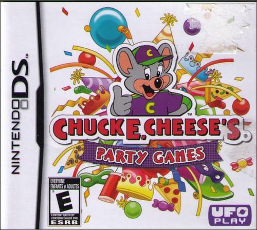 Chuck E Cheese's Party Games Nintendo DS Video Game