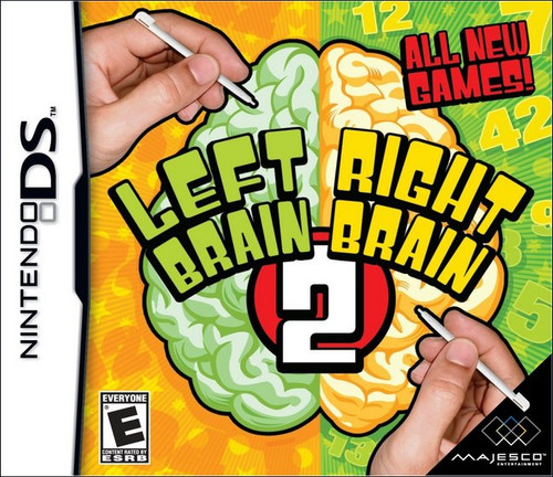 Left Brain Right Brain 2 Nintendo DS Video Game