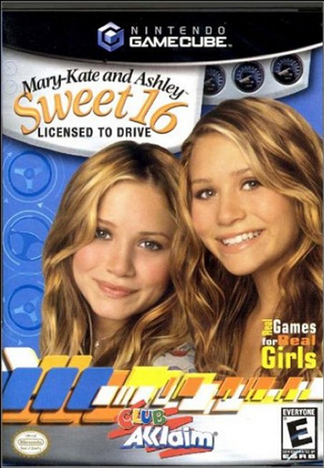 Mary Kate & Ashley Sweet 16 Licensed To Drive Gamecube Video Game