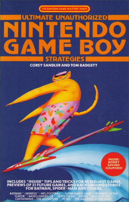 Ultimate Unauthorized Nintendo Game Boy Strategies Vintage Guide Book