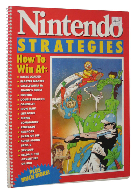 Nintendo Strategies How To Win At Consumer NES Guide Strategy Book