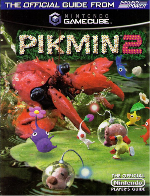 Nintendo Pikmin 2 Official Players Strategy Guide Book