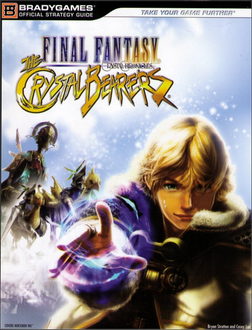 Final Fantasy Crystal Chronicles The Bearers Official Strategy Guide Book