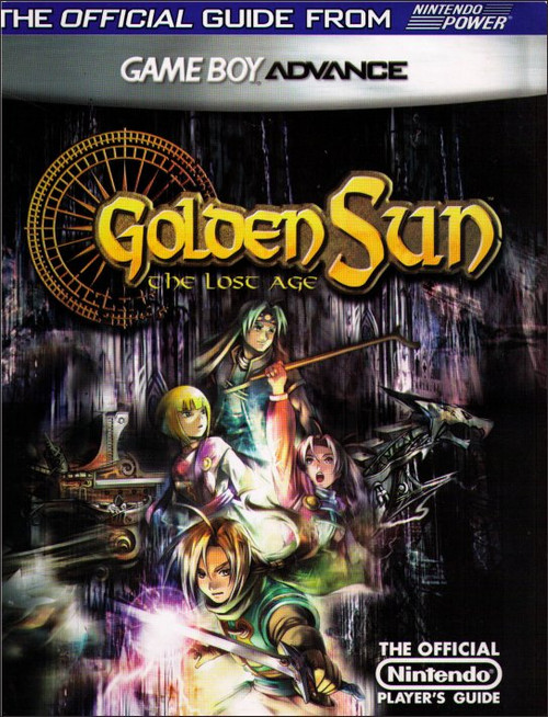 Golden Sun The Lost Age Game Boy Advance Player's Strategy Guide Book