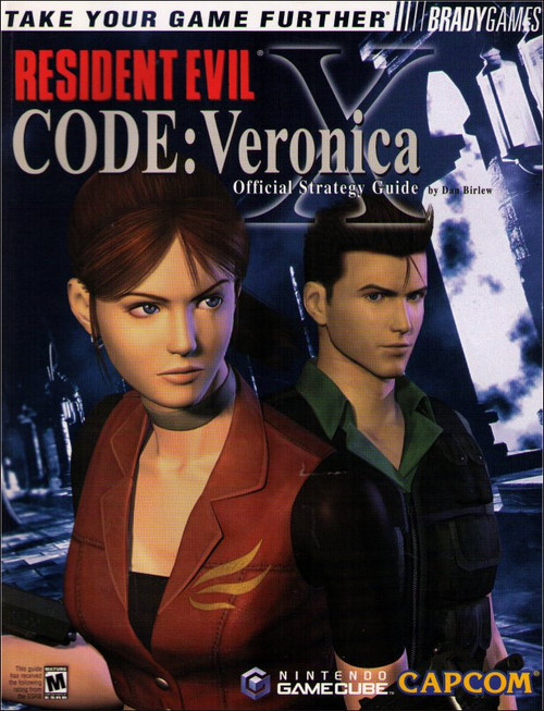 Resident Evil Code Veronica Gamecube Official Strategy Guide Book