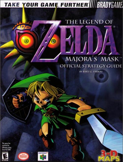 Nintendo Legend of Zelda Majora's Mask Official Strategy Guide Book
