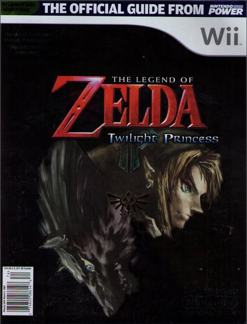 Nintendo Legend of Zelda Twilight Princess Official Players Strategy Guide Book