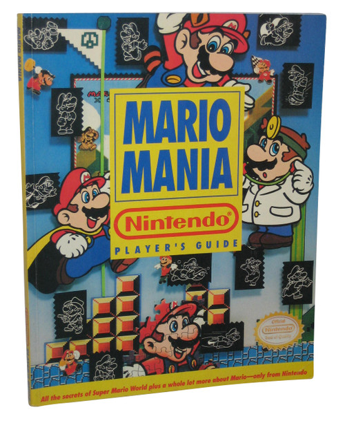 Nintendo Super Mario Bros. Mania Players Strategy Guide Book