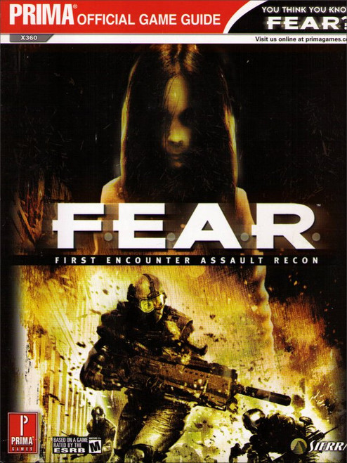 F.E.A.R. First Encounter Assault Recon Official Strategy Guide Book