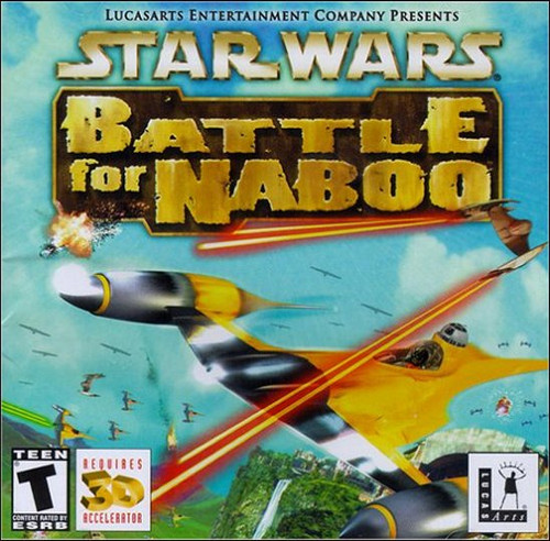 Star Wars Battle For Naboo PC Video Game