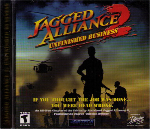 Jagged Alliance 2: Unfinished Business PC Video Game