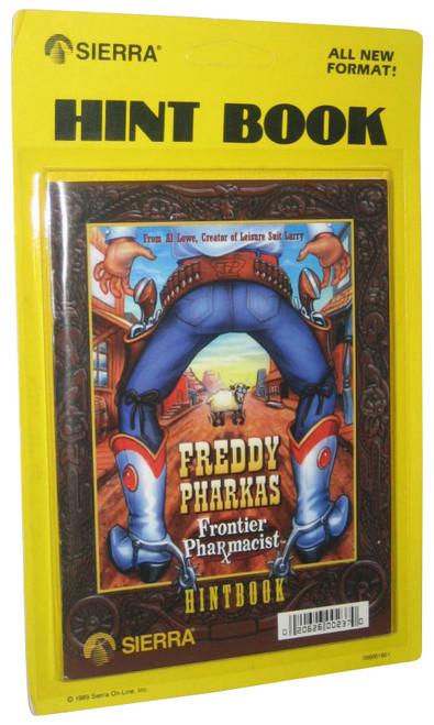 Freddy Pharkas Frontier Pharmacist Sierra Vintage (1989) Hint Book Strategy Guide