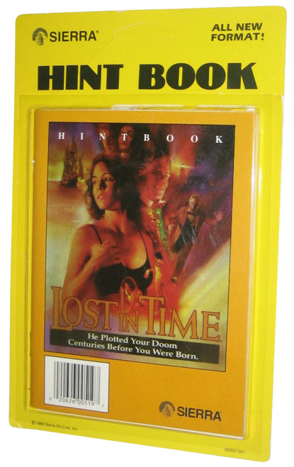 Lost In Time Sierra Vintage (1989) Hint Book Strategy Guide