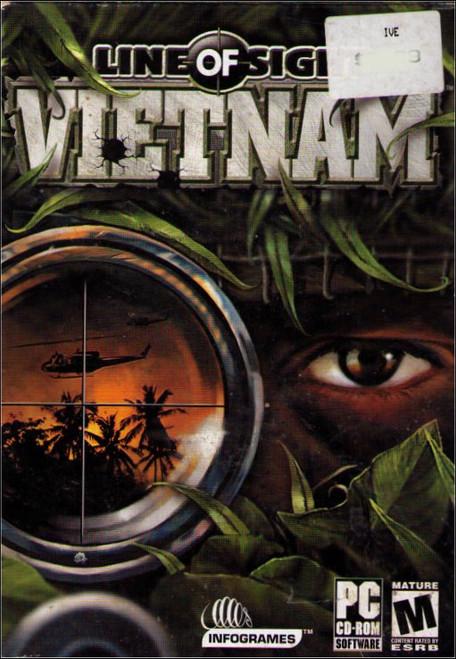 Line of Sight Vietnam Atari PC Windows Video Game
