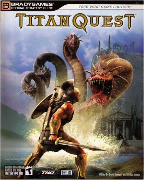 Titan Quest PC Windows Brady Games Official Strategy Guide Book