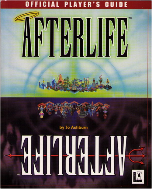 Afterlife PC Windows Lucas Arts Official Players Strategy Guide Book